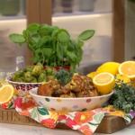 Phil Vickery roast chicken traybake with oregano, lemons and onions recipe on This Morning