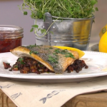 Joseph Denison Carey midweek fish super with sea bream and chorizo recipe on This Morning