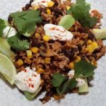 John Whaite Tex-Mex crispy pork rice recipe on Steph's Packed Lunch