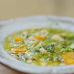 Nisha Katona Tuscan vegetable soup recipe on A Taste Of Italy