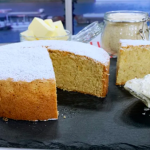 Joseph Denison Carey brown butter and almond cake recipe on This Morning