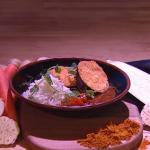 John Whaite aubergine katsu curry recipe on Steph's Packed Lunch