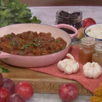 Nisha Katona lamb shoulder and plum curry recipe on This Morning
