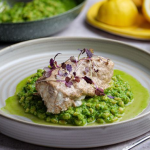 Simon Rimmer Yoghurt Roasted Monkfish With Green Barley recipe on Sunday Brunch