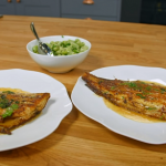 Broad beans with Parmesan and pan-fried sole recipe on Simply Raymond Blanc