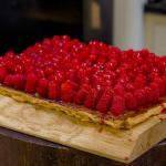 James Martin Raspberry Tart recipe on James Martin's Saturday Morning Masterclass