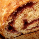 Sean Wilson jam roly poly recipe on Steph's Packed Lunch