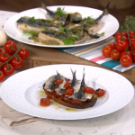 James Martin grilled sardines and mackerel on toast special recipe on This Morning