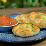 Ainsley Harriott cheese souffle Welsh rarebit muffins recipe on Ainsley's Food We Love