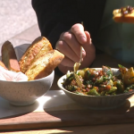 Phil Vickery Spring feast with asparagus, potatoes and wild garlic recipe on This Morning