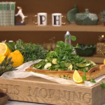Donal Skehan spring vegetable tart with ricotta cheese and lemon recipe on This Morning