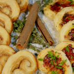 Ainsley Harriott sweet and savoury palmiers recipe on Ainsley's Food We Love