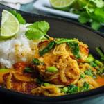 Simon Rimmer Halloumi And Bean Curry recipe on Sunday Brunch