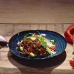 John Whaite naked burrito recipe on Steph's Packed Lunch