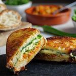 Tom Kerridge kimchi and cheese toastie recipe on Sunday Brunch