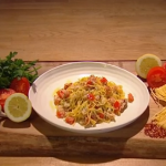 Jack Stein crab linguine recipe on Steph's Packed Lunch