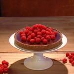 Ruby Bhogal dulce de leche tart recipe on Steph's Packed Lunch