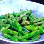 James Martin asparagus and French beans with French dressing recipe on James Martin's Saturday Morning