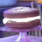 James Martin ginger cake with ginger preserve and double cream recipe on James Martin's Saturday Morning