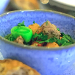Kate Humble lamb cawl (Welsh broth with parsnips, swede and potatoes) recipe on Escape to the Farm