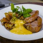 James Martin grilled lamb chops with deep fried artichokes and garlic aioli recipe on James Martin's Saturday Morning