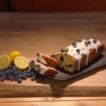 John Whaite blueberry and lemon loaf cake recipe on Steph's Packed Lunch