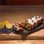 John Whaite blueberry and lemon loaf cake recipe on Steph's Packed Lunch