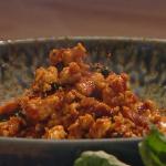 John Whaite chicken pad krapow stir-fry recipe on Steph's Packed Lunch