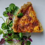 Simon Rimmer smoked cheddar and apple quiche recipe on Sunday Brunch