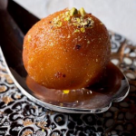 Parveen Ashraf Gulab Jamun (rum baba) recipe on Sunday Brunch