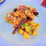 Ainsley Harriott Spanish style chicken with saffron potatoes recipe on Ainsley's Mediterranean Cookbook