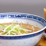 Gok Wan Thursday Night Fakeaway with giant spring rolls and chicken and sweetcorn soup recipe on This Morning