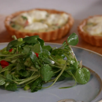 John Torode spring salad with asparagus and watercress recipe on John and Lisa's Weekend Kitchen