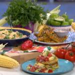 Clodagh Mckenna sweet corn three ways recipe on This Morning