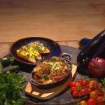 Freddy Forster 'porky' Provencal vegetable gratin recipe on Steph's packed Lunch