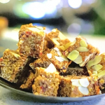 Kate Humble energy bars with apple, medjool dates and cranberries recipe on Escape To The Farm