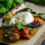 Simon Rimmer Burrata and Caponata recipe on Sunday Brunch