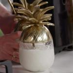 Lisa Faulkner tropical pina colada cocktail recipe on John and Lisa's Weekend Kitchen