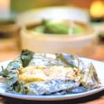 Gok Wan lo mai gai dim sum with rice and lotus leaves recipe on Gok Wan's Easy Asian