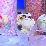 Phil Vickery mint, chocolate chips and raspberry ripple ice creams recipe on This Morning