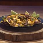 John Whaite steak and cheese nachos recipe on Steph's Packed Lunch