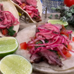 Joseph Denison Carey tacos with steak and pickled onions recipe on This Morning