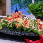 John Torode Vietnamese summer feast with prawns and glass noodles recipe on This Morning