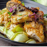 Simon Rimmer Sichuan sea bass with celery recipe on Sunday Brunch