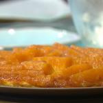 Simon Rimmer pineapple tarte tatin with ice cream recipe on Sunday Brunch