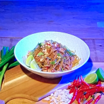Jack Stein chicken pad Thai recipe on Steph's Packed Lunch