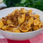 Joseph Denison Carey speedy sausage and fennel pasta recipe on This Morning