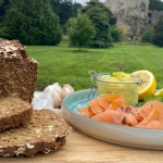 Clodagh Mckenna Guinness bread with smoked salmon recipe on This Morning