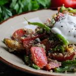 Simon Rimmer tonnato verde with tuna and tofu recipe on Sunday Brunch