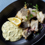 Simon Rimmer Vinegar Spiced Cod With Horseradish Mustard recipe on Sunday Brunch